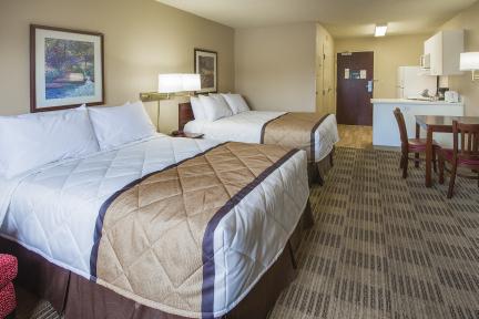 Suite tipo estudio - 2 camas matrimoniales