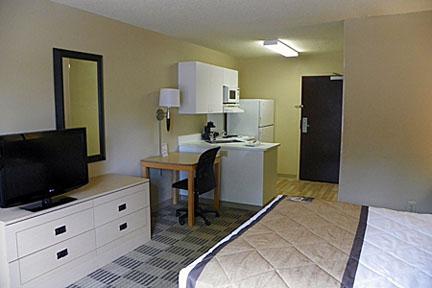 Suite tipo estudio - 1 cama Queen