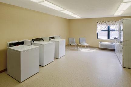 Lavandería para huéspedes en el hotel